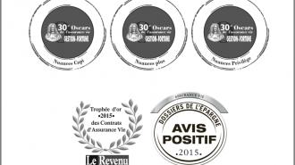 Nuances Plus et Nuances Privilège distingués en 2015