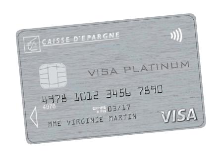 carte platinum caisse d épargne Visa Platinum : une carte haut de gamme et sur mesure | Gestion