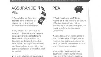 PEA et assurance vie: quelle enveloppe pour quels projets?