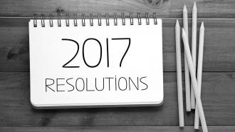 Les bonnes résolutions pour 2017