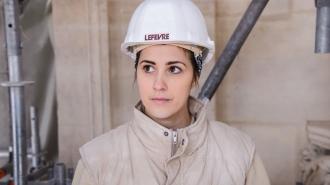 Pauline Genty : « La taille de pierre est un métier très gratifiant »