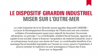 Le dispositif Girardin industriel : miser sur l'Outre-mer
